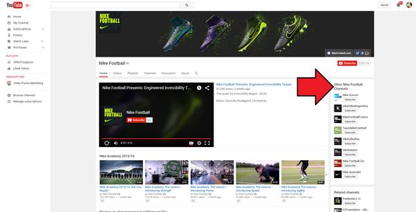Zgusnjava Protein Morska Anemona Nike Youtube Channel Creativelabor Org
