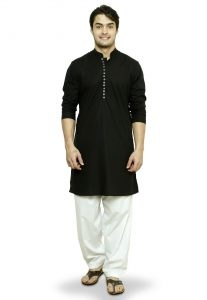 34e88651d9 Dupatta is worn to complete the outfit. Men traditionally wear kurta,  achkan, kameez and sherwani for upper garment, lower garment includes  dhoti, churidar, ...