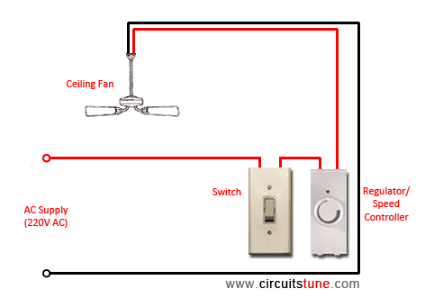 How i connect a ceiling fan without a regulator quora aloadofball Images