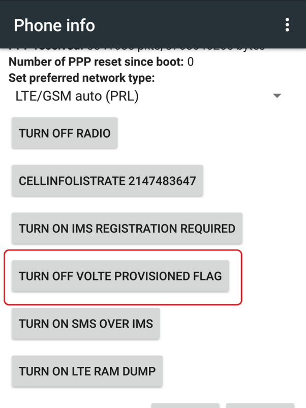 How to update LTE to VoLTE in a Huawei P Smart - Quora