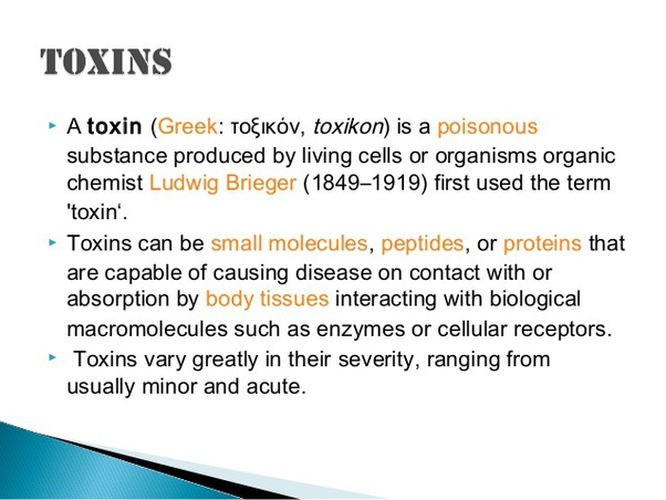 a toxine definition)