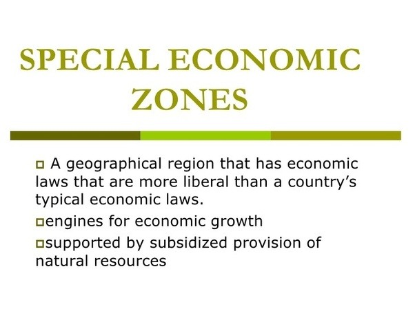 special economic zone policy its problem In exercise of powers conferred by section 40 of the special economic zones act, 2012 the board of investment  provide policy and research support (c).