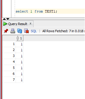 What is the best SQL query to check if any row exists in a