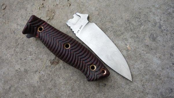 Intimidating knife
