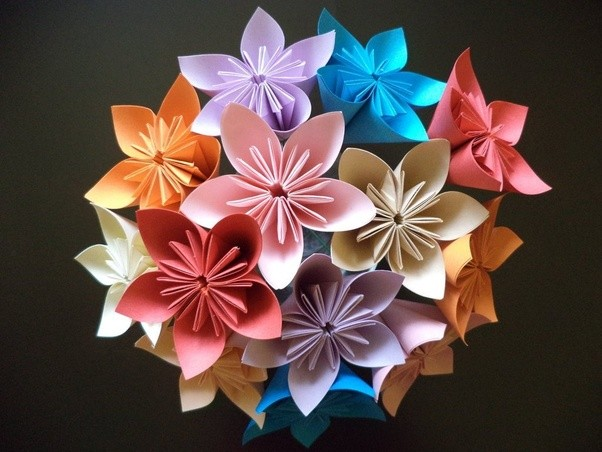 This May Be Slightly Beyond Basic But Try Your Hand At Kusudama An Origami Flower Which I Promise Is Not As Complex It Looks