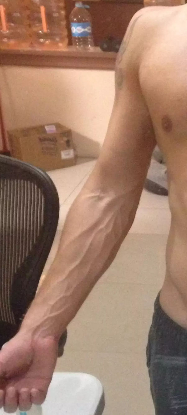 Arms i want my veins in I'm a