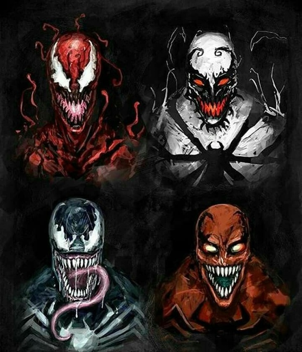 Who would win in a fight, Toxin, Carnage, or Venom? - Quora