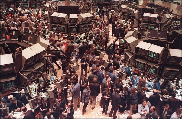 trading floor of the NYSE