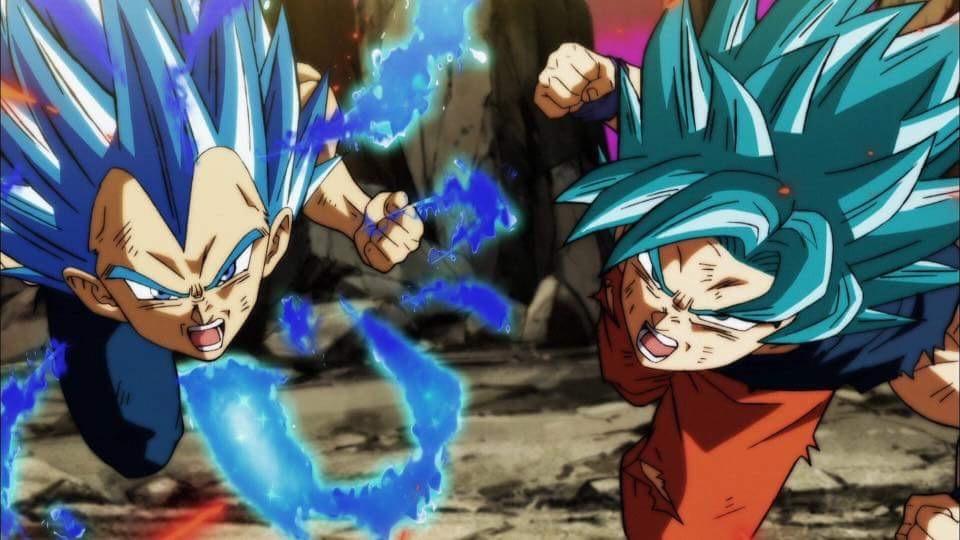 Is The Ssjb Kaioken X20 Goku Stronger Than Vegetas New Form Quora