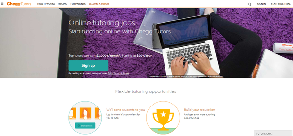 What are some online tutoring websites that I can use to earn money