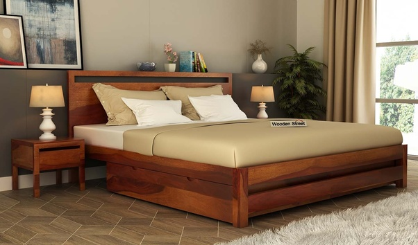 Which Type Of Wood Is Good For Double Beds Sheesham Wood
