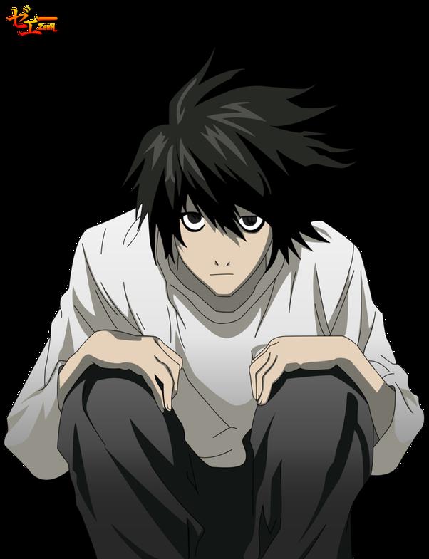 Billedresultat for Death Note - L