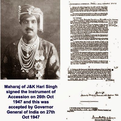 What is the story behind pakistan administered kashmir what is this agreement was signed by all the rulers princely states and the signatories of indian and pakistani dominions platinumwayz