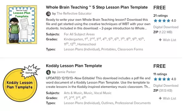 Where Can You Download Free Lesson Plan Templates Quora