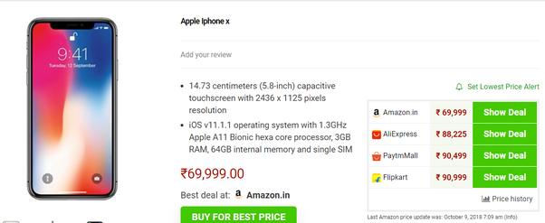 Which is the best online price comparison site for online