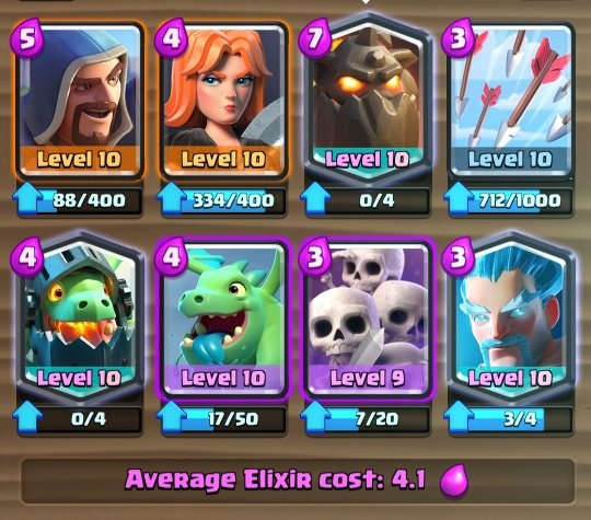 What Are Some Best Decks To Use With Lava Hound In Clash Royale Quora