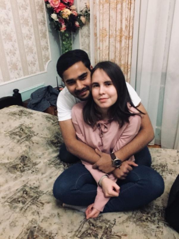 Husband surprises wife porn