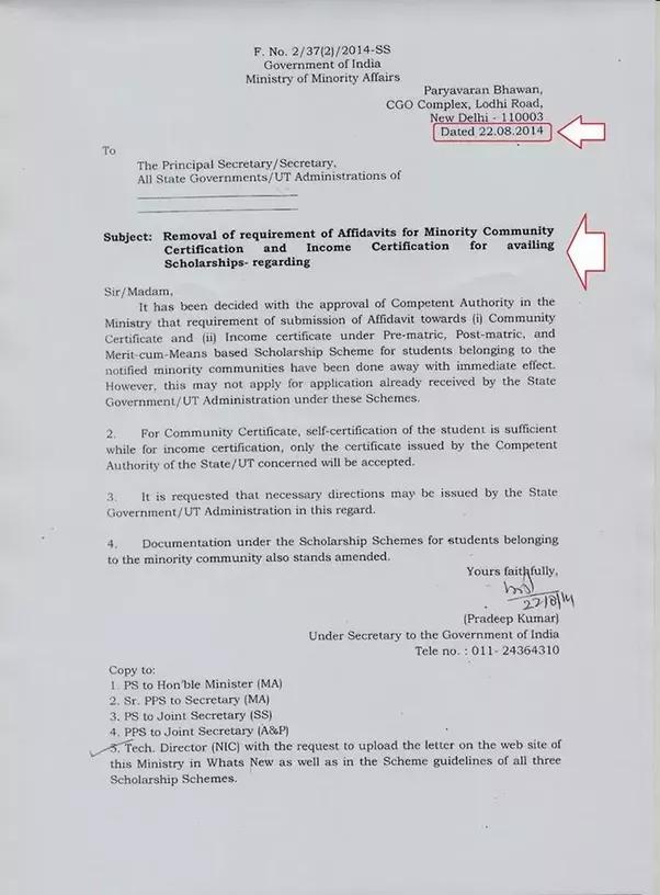 How To Get Jain Minority Certificate Quora
