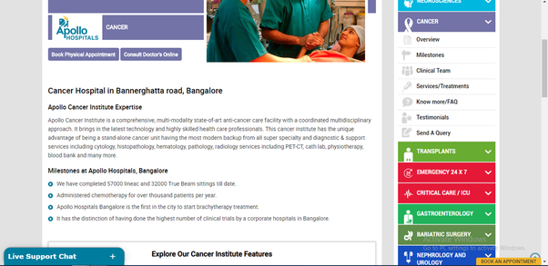 What are the best cardiac treatment hospitals in