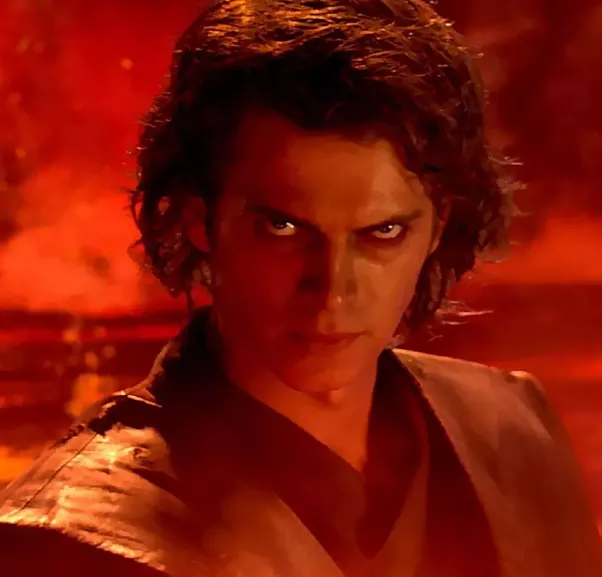 Anakin Skywalker Burned Face