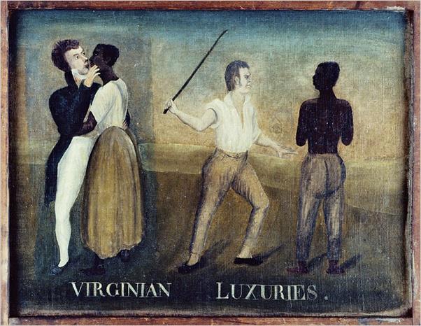 Sex slave of the native tribe