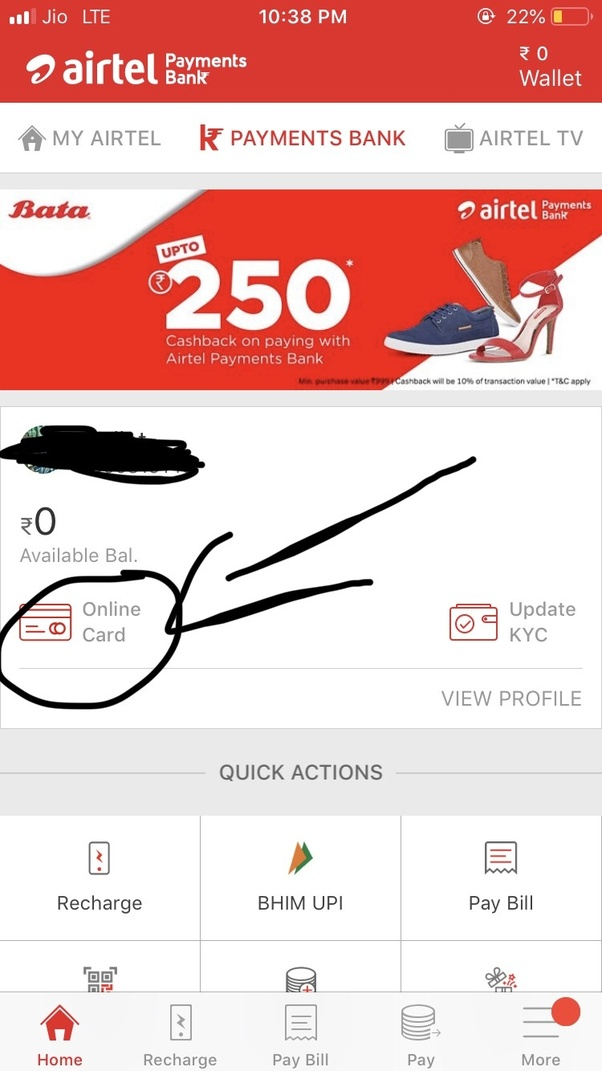 Can I transfer my funds from an Airtel Wallet to my bank