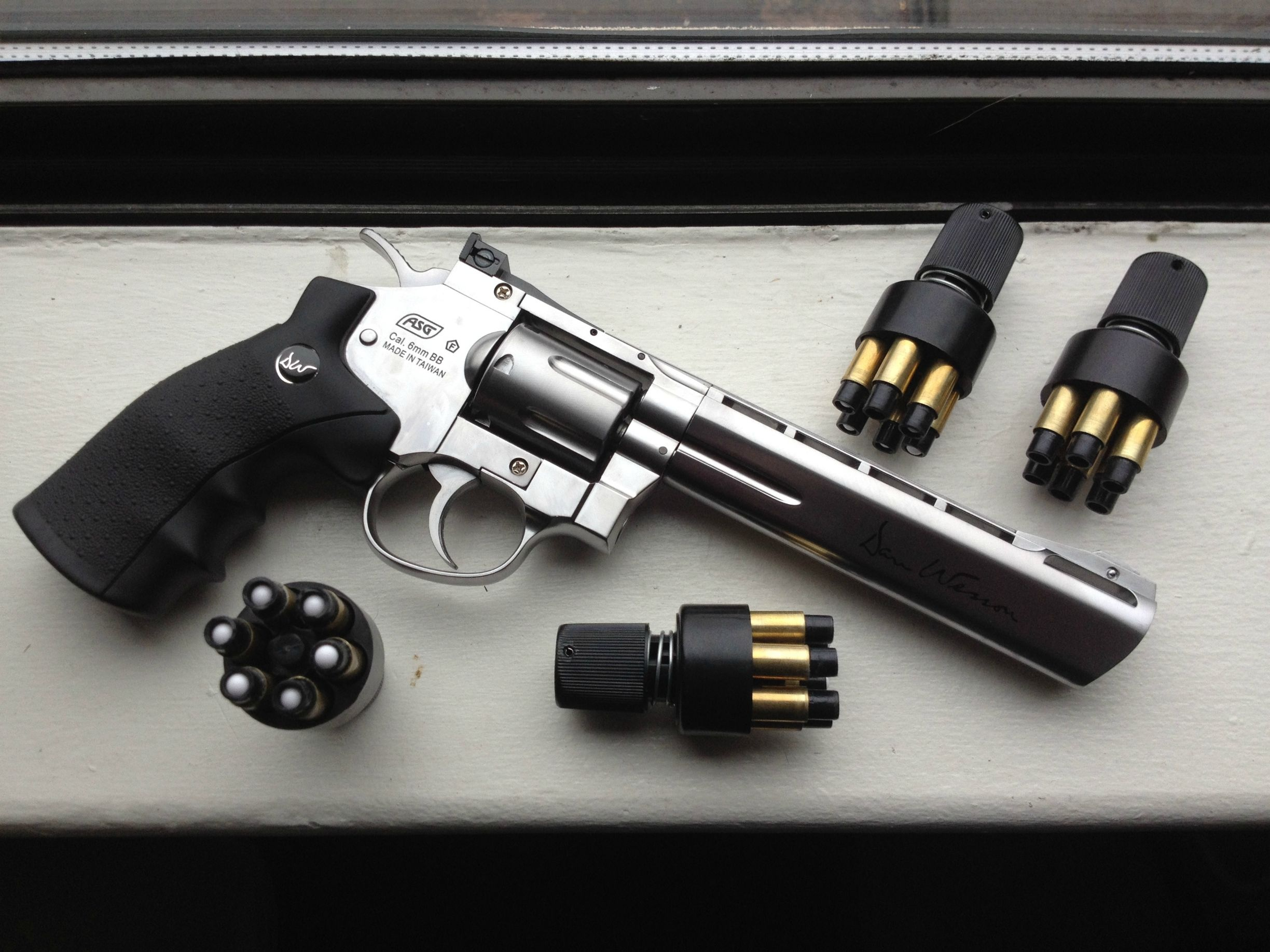 How practical are HPA revolvers for CQB airsoft guns? - Quora