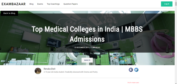 How is the ranking of top medical colleges in India? - Quora