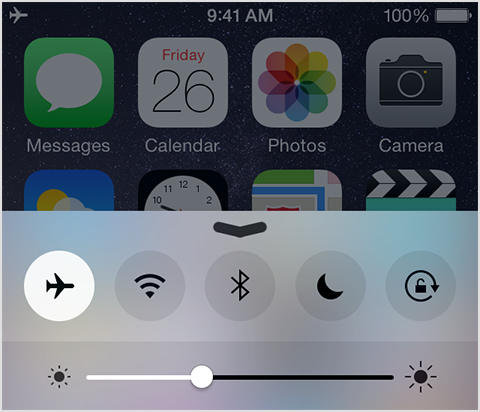 what is airplane mode on my iphone how to turn on the airplane mode on an iphone quora 7882