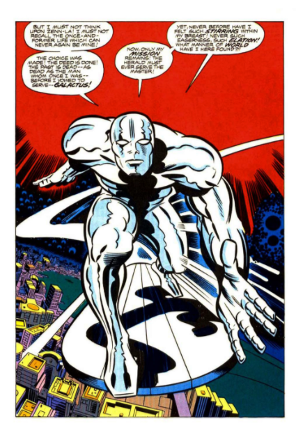 As A Herald I Would Explore The Universe, Have Unimaginable Power While  Wiping Out Pesky Alien Threats Like The Skrull, Brood And Phalanx .