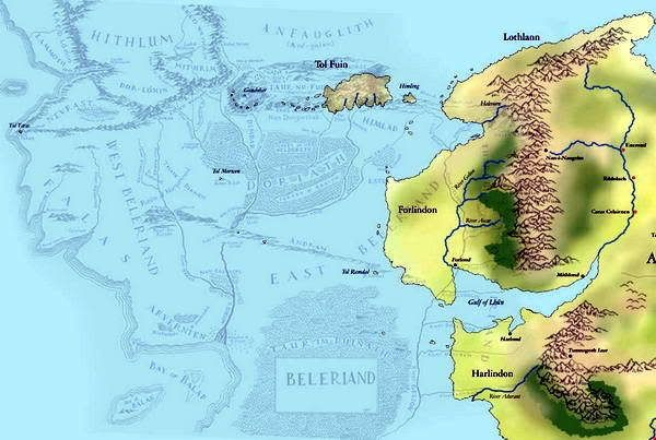 Did Maps In Middle Earth Have West: What Is The Difference Between Aman And Valinor?