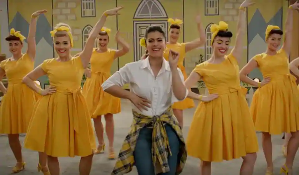 Why do a lot of Bollywood songs have white women as back row dancers? - Quora