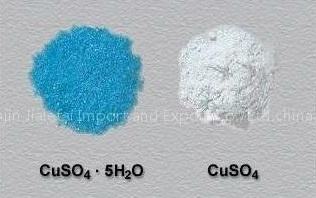 What is the color of the copper sulphate solution? - Quora