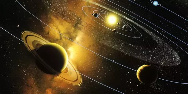 What force keeps the solar system bound to the sun quora - Space solar system wallpaper ...