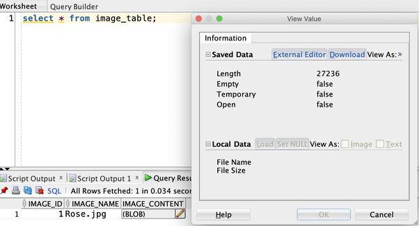 Can we store images ( jpg) in databases using Python? If yes, how