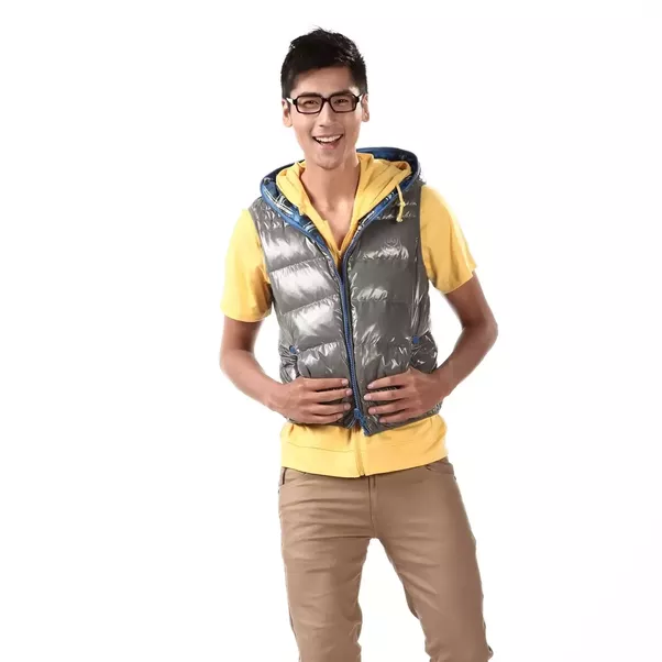 What are good ways to wear a down vest?
