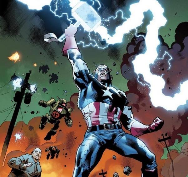 Captain America Mjolnir Bisa