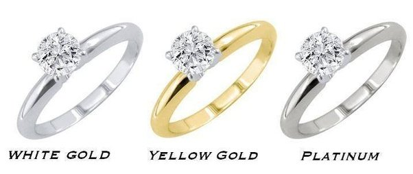 band classic comparison yellow your view top shown s best for ring the venus platinum metal in vs what gold
