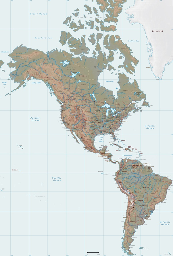 Is Latin America and South America the same continent? - Quora