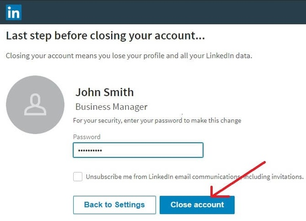 How to delete an old account on LinkedIn - Quora