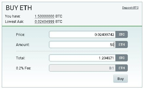 how to put ether in ether wallet