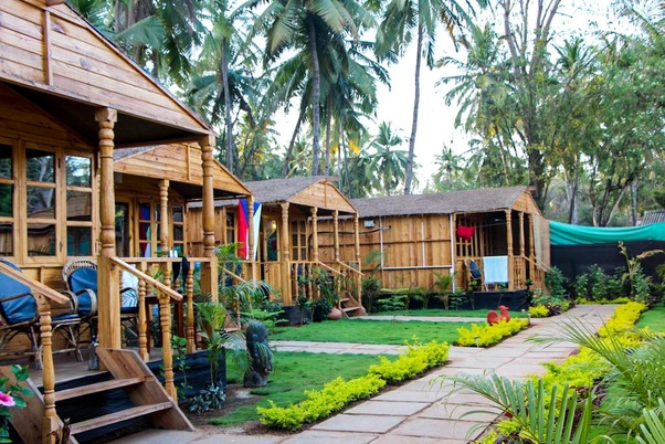 A Resort In South Goa With Pretty Cottages On The Palolem Beach Beautiful All Modern Facilities Located Right