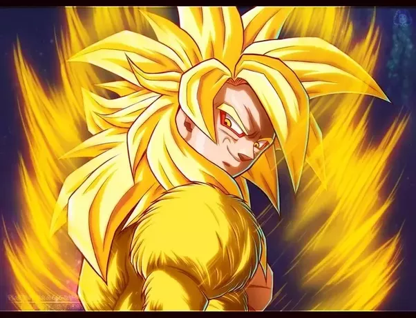 It Looks A Ton Like Golden Super Saiyan 4 However Since Is Supposed To Be Stronger Than SSJ5 Id Assume