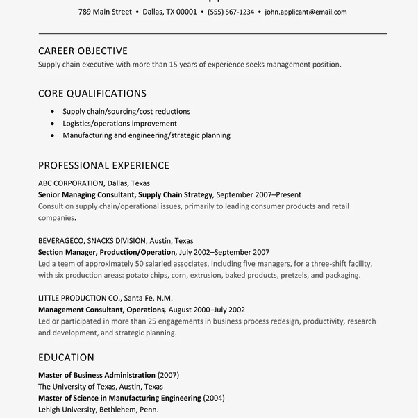 What Is The Difference Between A Resume And A Cv Quora