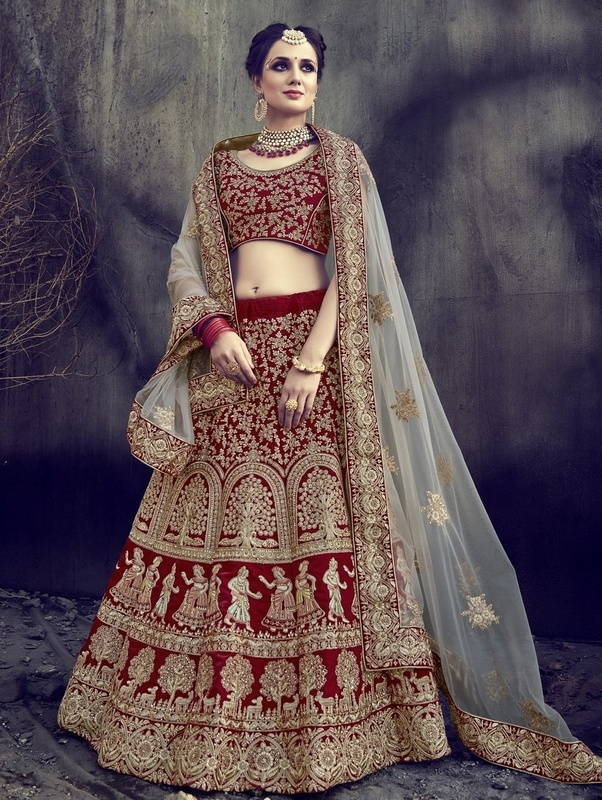 Deeply Connected With Hindu Marriages And The Indian Brides In Various Parts Of India Can Often Be Seen Red Bridal Sarees Or Lehengas
