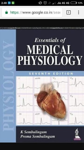 Which book is best for MBBS first year of physiology? - Quora