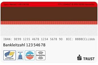 Sparkassenkarte Sicherheitscode