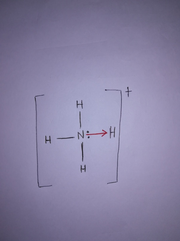 What Is The Nh4 Lewis Structure Quora