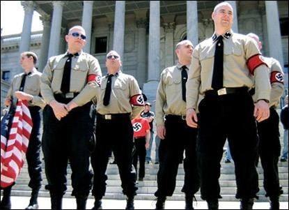 Afbeeldingsresultaat voor neonazi's in VS