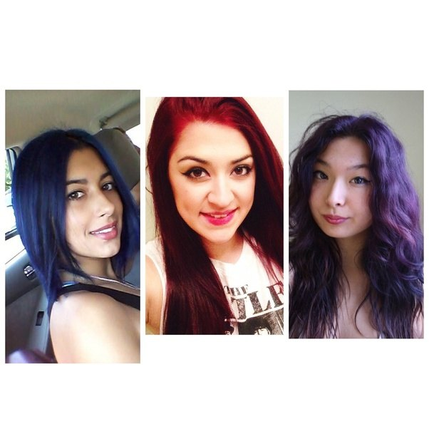 What is the coolest hair color to dye dark brown hair without using ...
